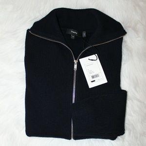 THEORY Ronzons FZ Eclipse Cashwool Sweater